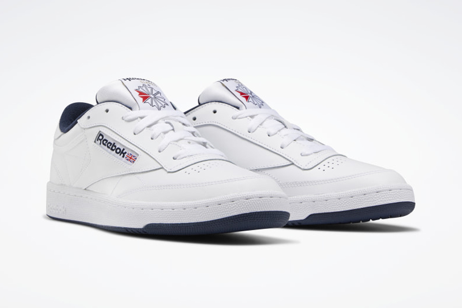 Reebok Club C 85 White Sneakers