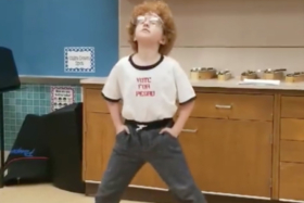 9-Year-Old Just Crushed the Napoleon Dynamite Dance