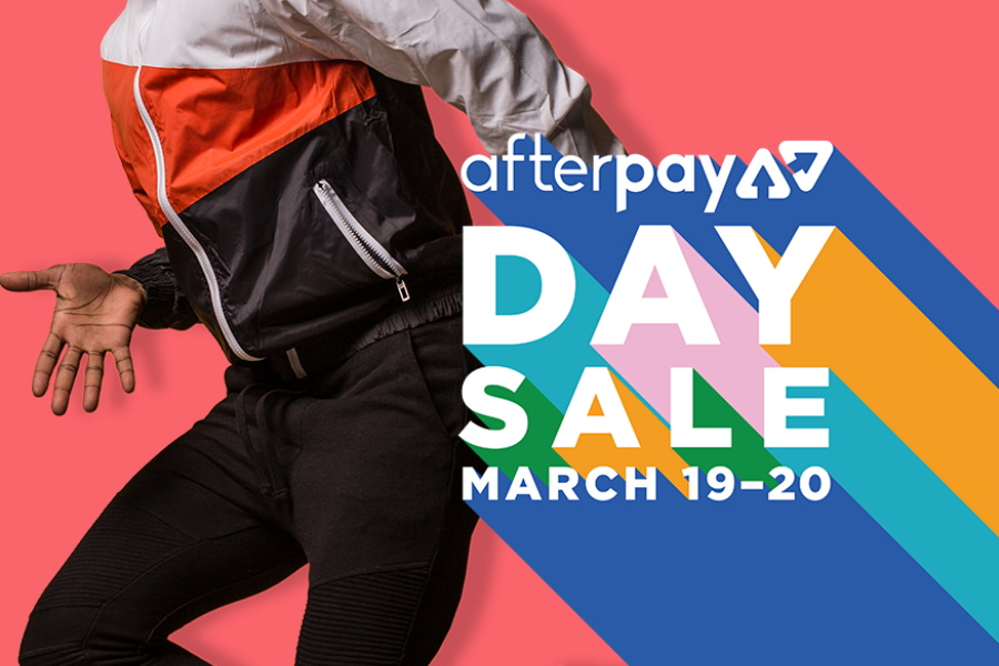 AfterPay Day Sale 2020 graphic