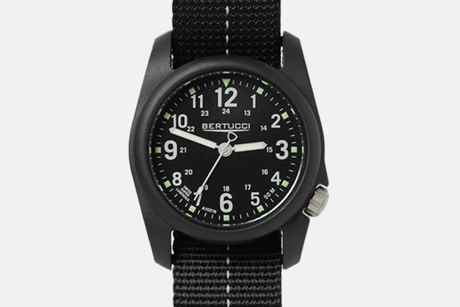 BlackBertucci Military Field Watch