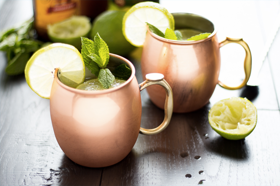 Best Irish Whisky Cocktails for St Paddys Day - Irish Mule