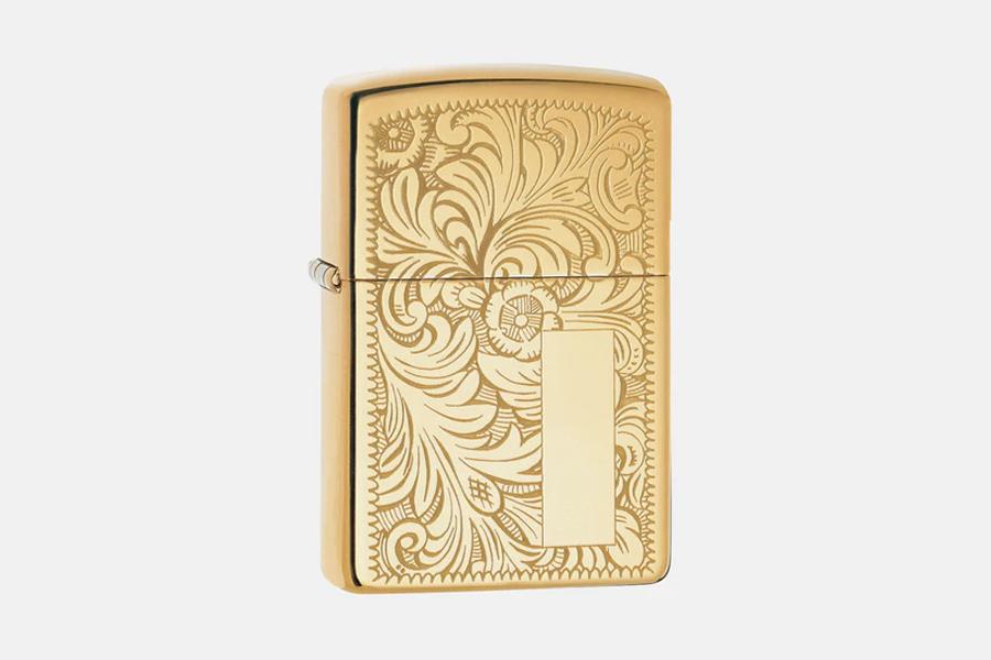 Brass Zippo Lighter 2