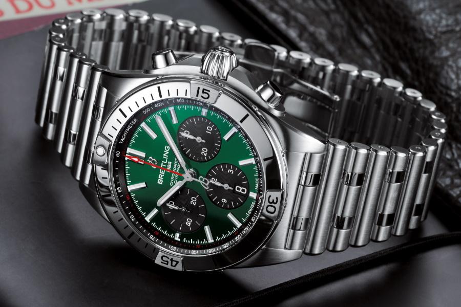 Breitling watch in partnership with bentley