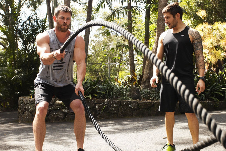 Chris Hemsworth makes fitness app centr free