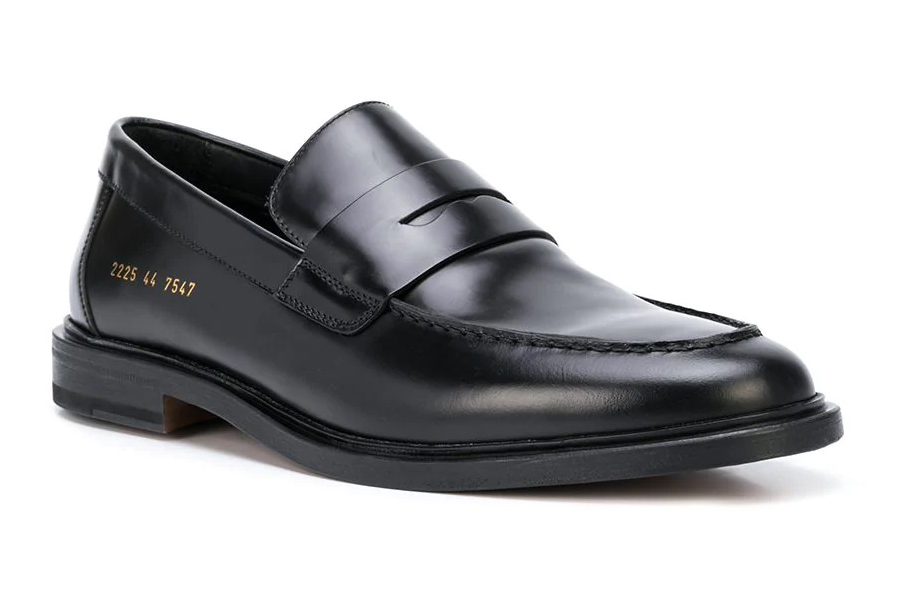 Common Projects Penny Loafers side view