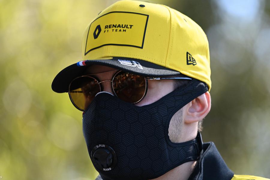 F1 driver Esteban Ocon