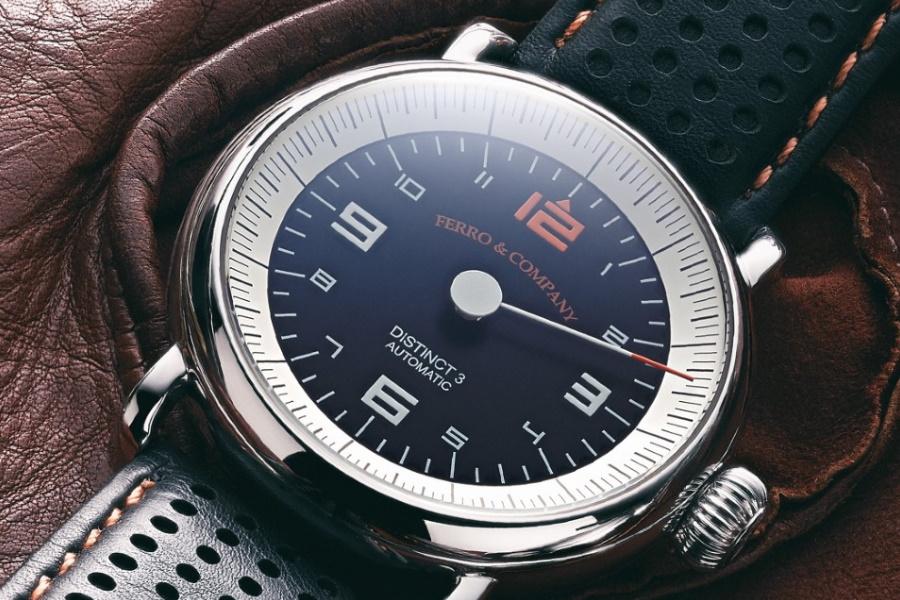 Ferro & Company racing watch