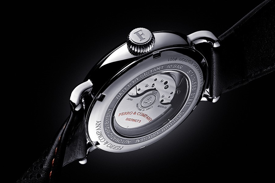 ferro racing watch caseback