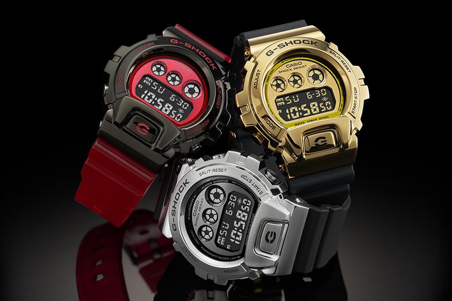 G SHock GM6900 varies in color