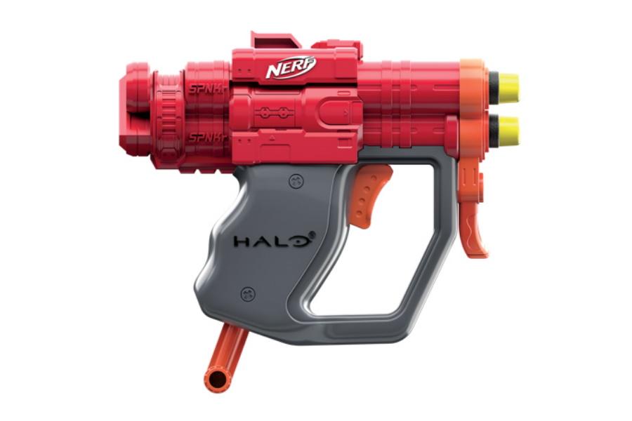 halo themed nerf gun