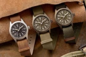 Three Khaki Hamilton Watches