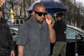 Kanye West wears unreleased Adidas Yeezy 451 sneakers