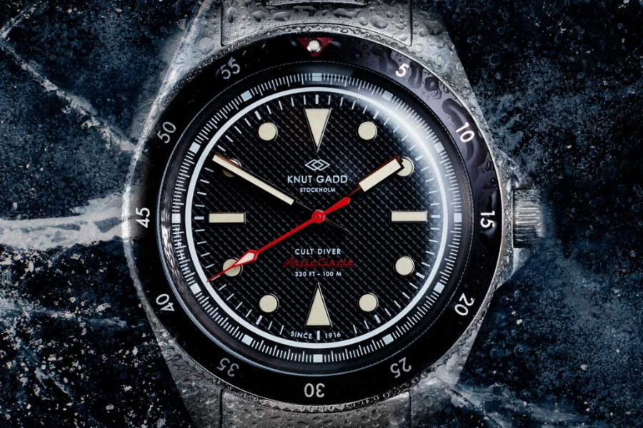 knut gadd arctic divers watch