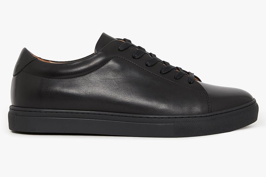 R.M. Williams black sneaker
