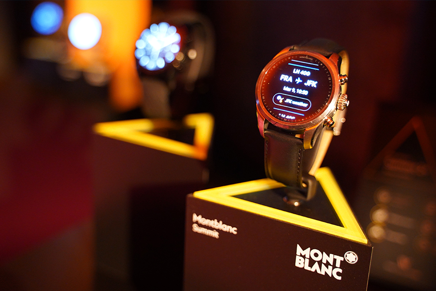 Summit 2 Plus at Montblanc launch