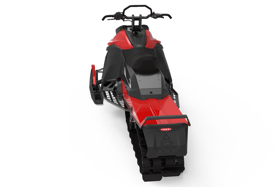 Taiga Motors Electric Snowmobile back view