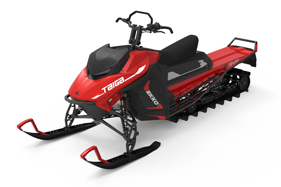 Electric Snowmobile