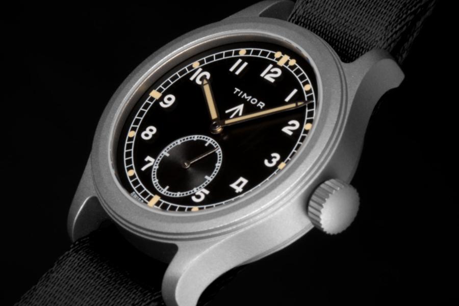 Timor renews the Military's Dirty Dozen watches