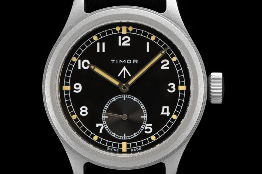 Timor watch front view