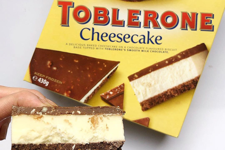 Tolberone Cheesecake spotted in Victoria