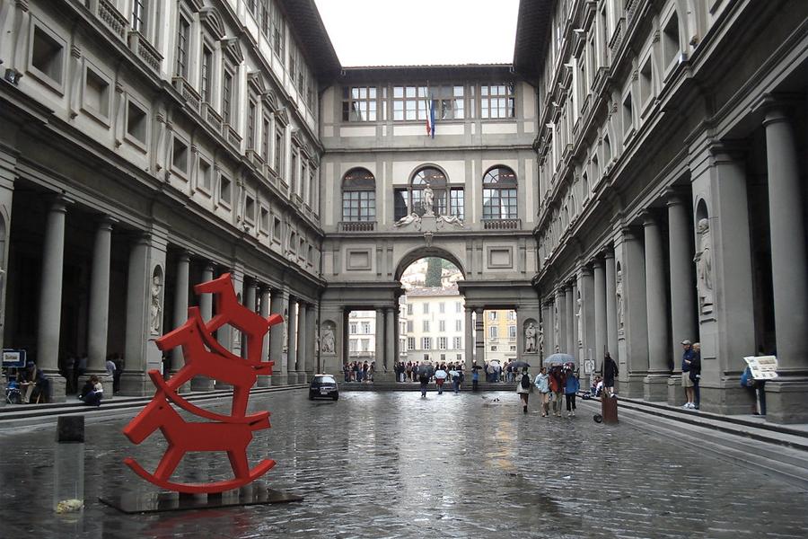 Virtual Museum Tours - Uffizi Gallery, Florence