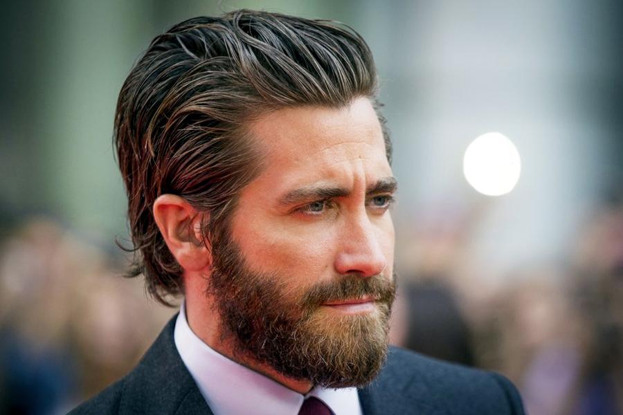 Jake Gyllenhaal with a beard