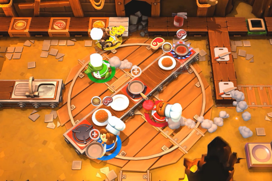 best multiplayer games overcooked 2