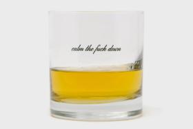 minimalist whisky glasses