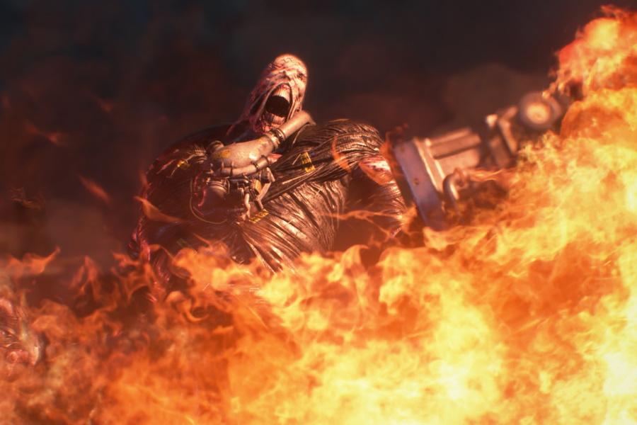 resident evil nemesis screenshot