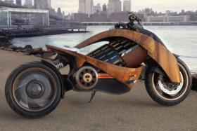 12 Newron EV-1 electric motorcycle