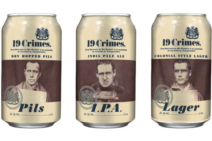 19 Crimes launches cans