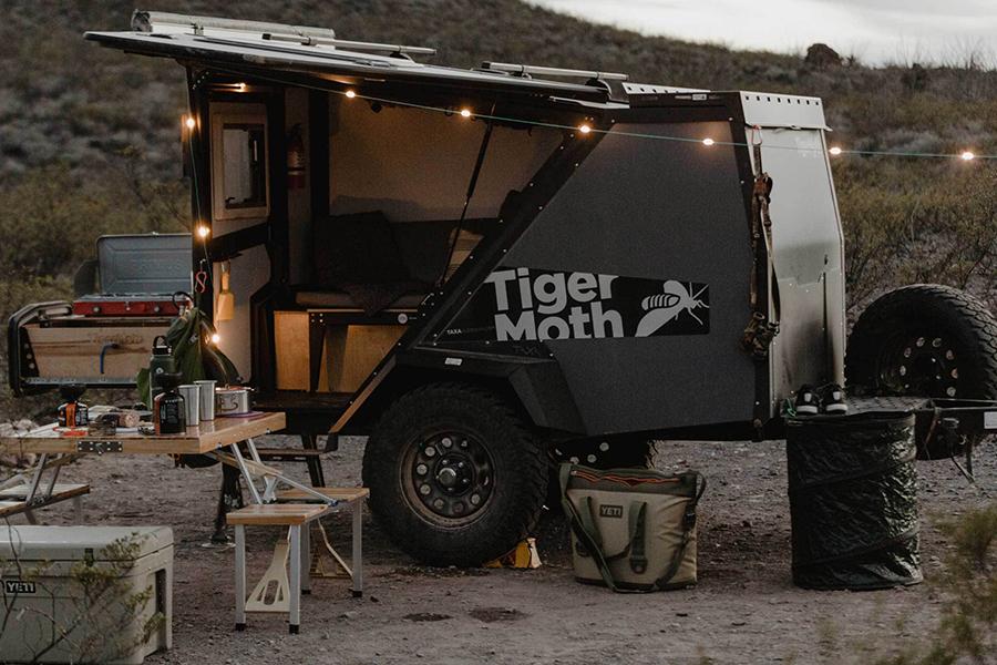 Tiger Moth Camper travel