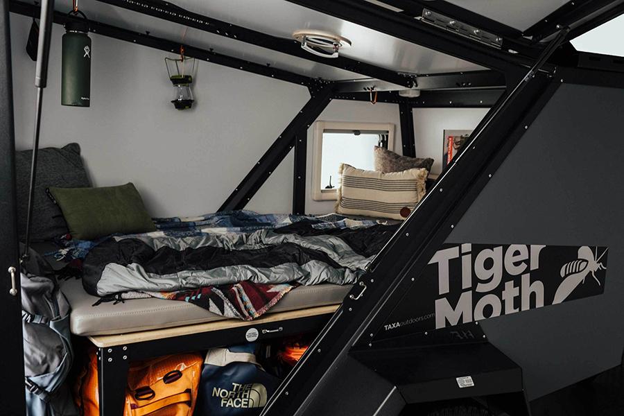 Tiger Moth Camper bed