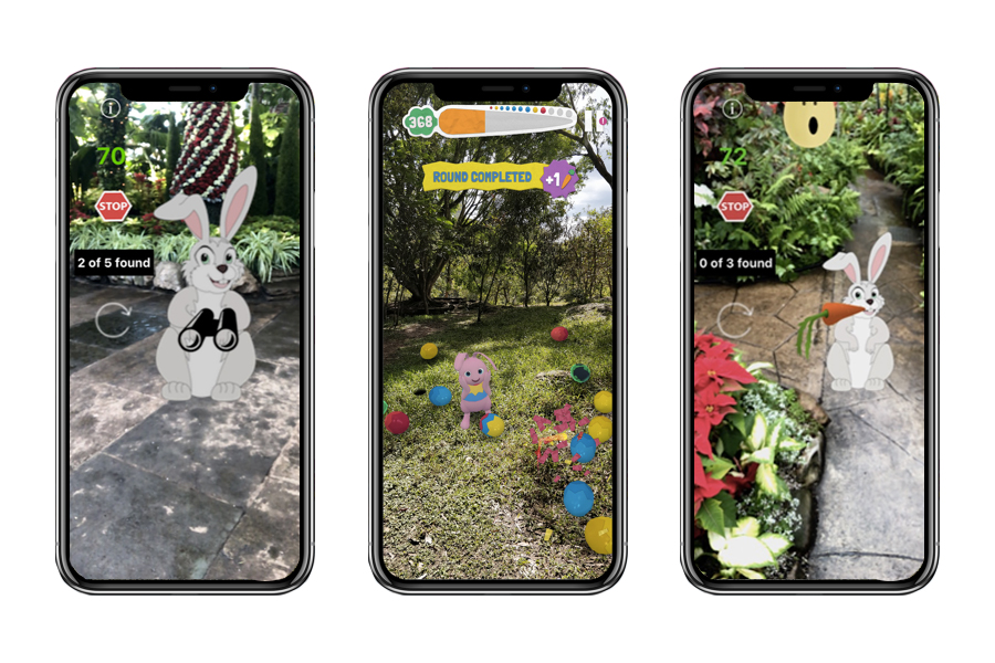 AR Easter Egg Hunt App