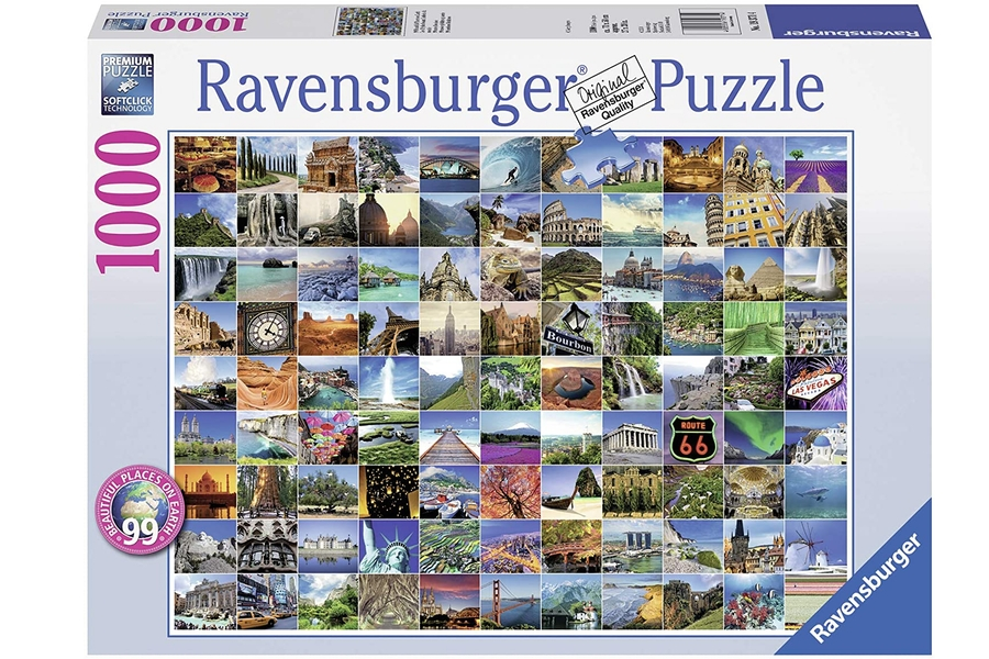 99 Beautiful Places on Earth Jigsaw Puzzle