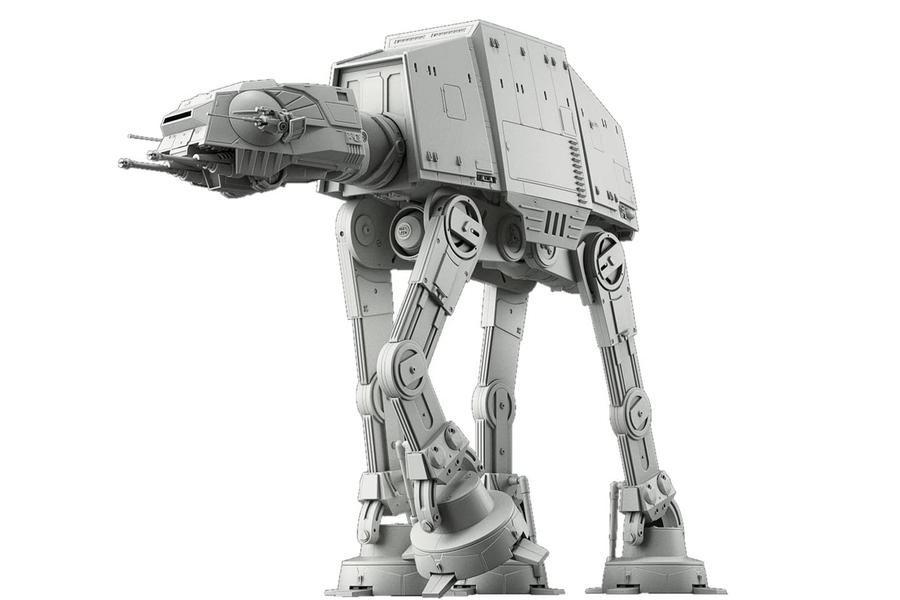 Star Wars 1:144 at-at Walker Building Kit