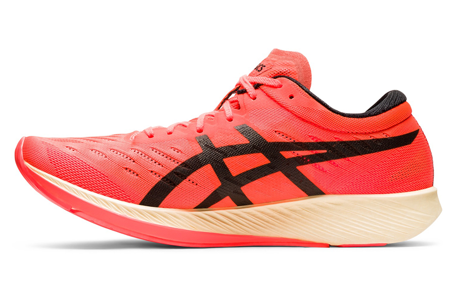 Asics METARACER running shoe inner side