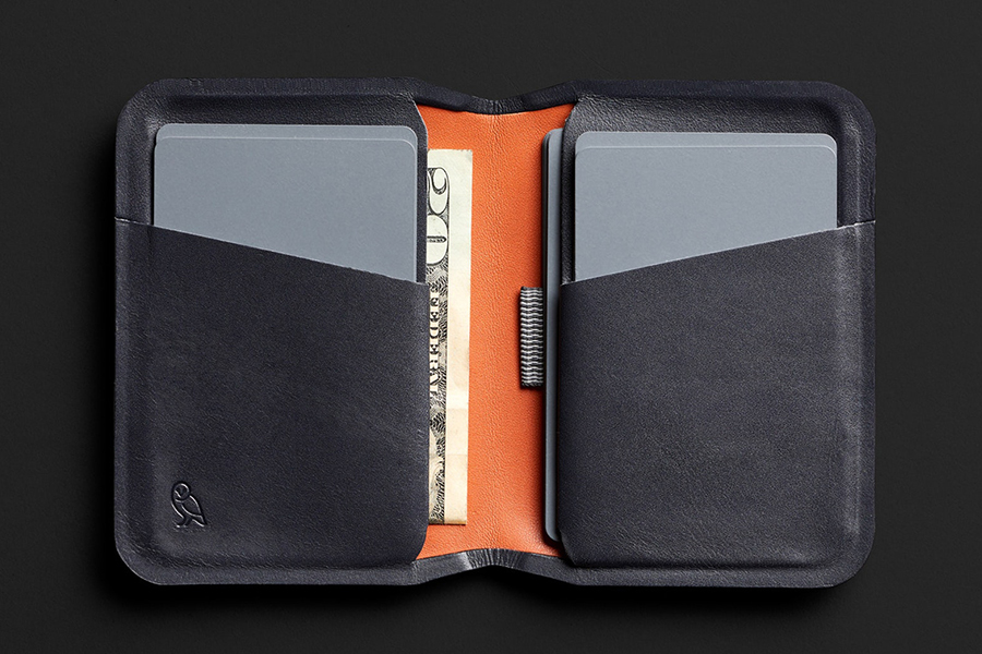Bellroy Apex Collection inside view wallet