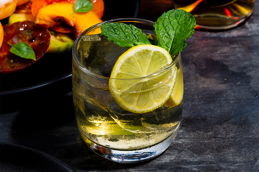 Best Easter Cocktail Recipes - Orchard Spritz 2