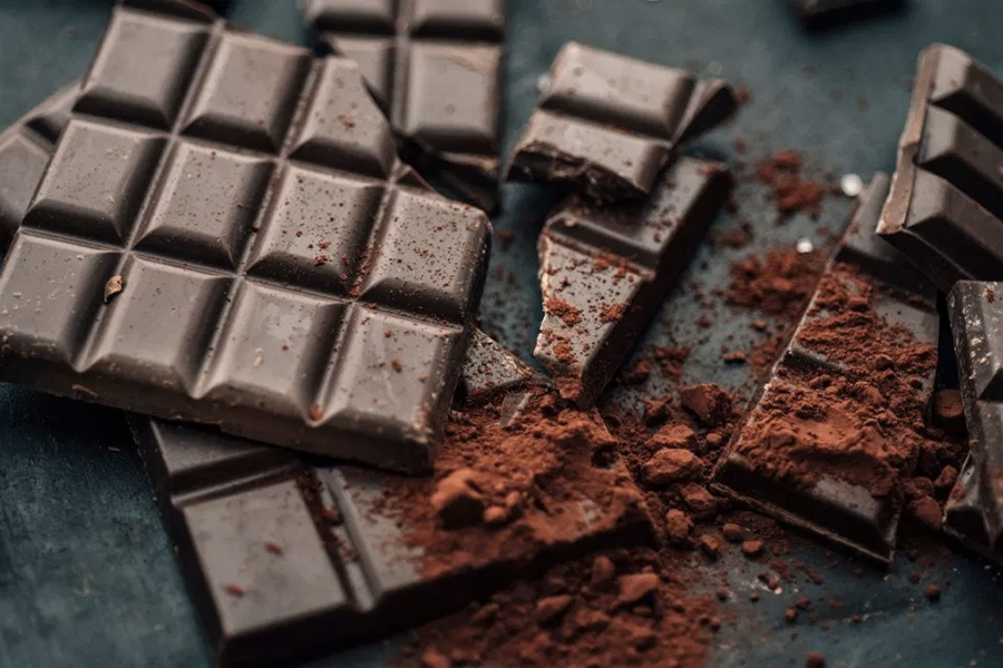 Best Healthy Snacks for Weight Loss - dark chocolate