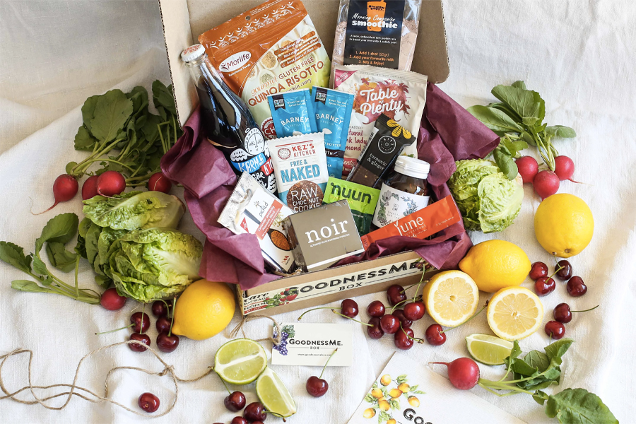 Best Home Delivery Meal kits - Goodness Me Box