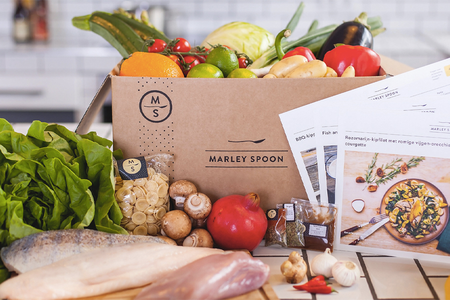 Best Home Delivery Meal kits - Marley Spoon