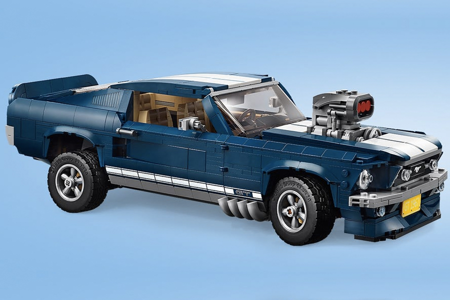 Best Lego Sets For Adults - Ford Mustang Model Car Set 10265