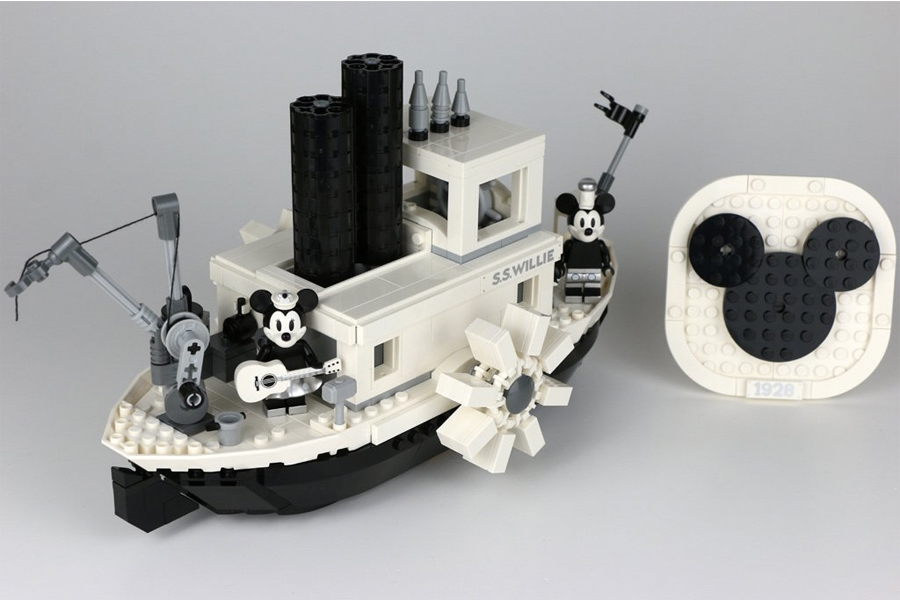 Best Lego Sets For Adults - LEGO Ideas Steamboat Willie 21317