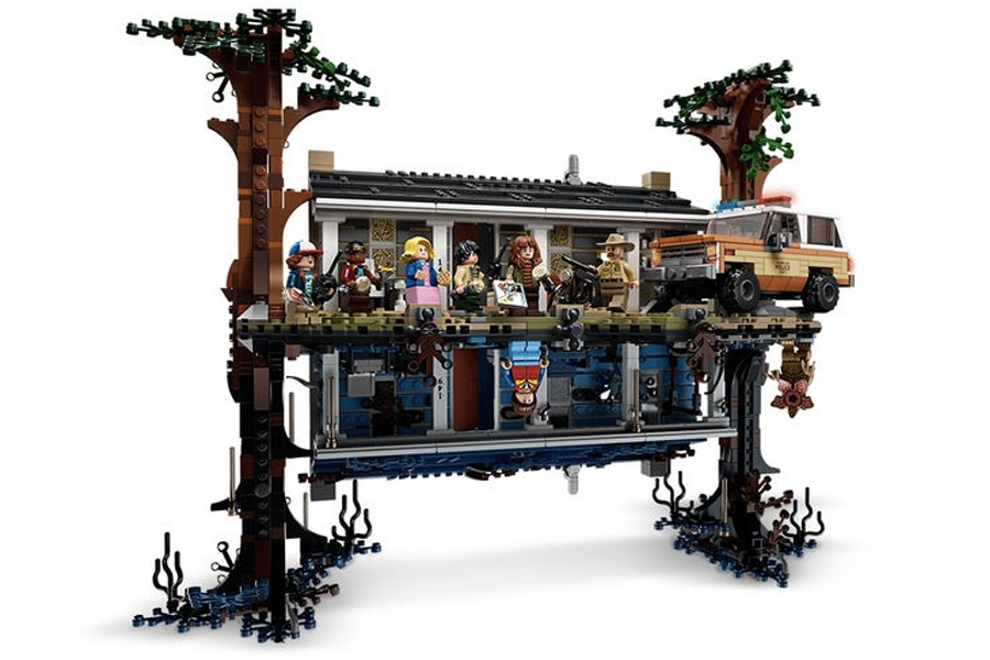 Best Lego Sets For Adults - LEGO Stranger Things The Upside Down Byers House