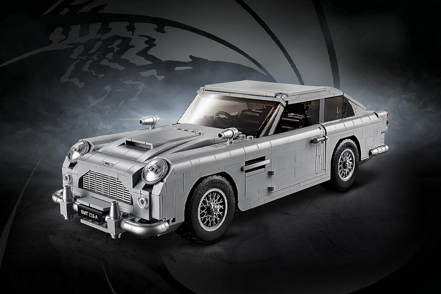 Best Lego Sets For Adults - Lego Creator Expert James Bond Aston Martin DB5 10262