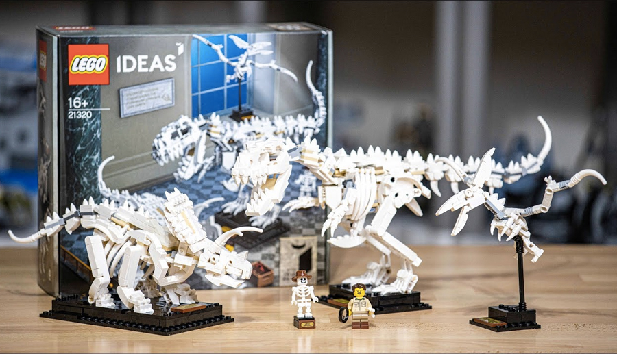 Best Lego Sets For Adults - Lego Ideas Dinosaur Fossils 21320