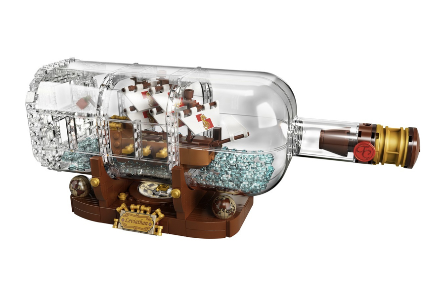 Best Lego Sets For Adults - Lego Ideas Ship in a Bottle 21313