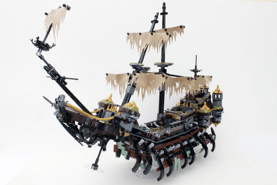 Best Lego Sets For Adults - Pirates of the Caribbean Silent Mary 71042