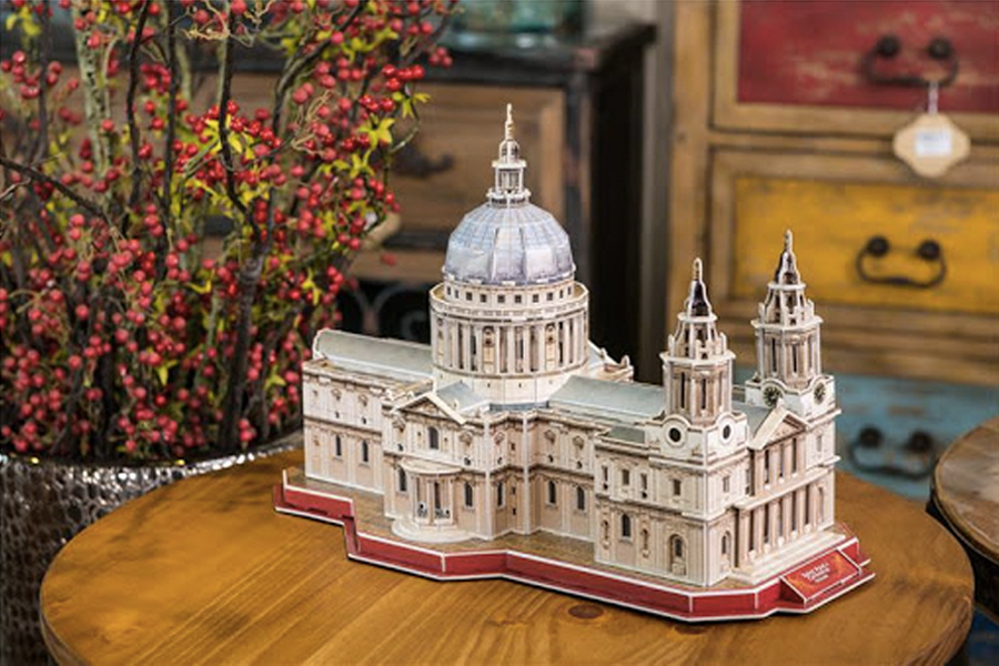 Best Puzzles for Adults - 3D St. Paul's Cathedral